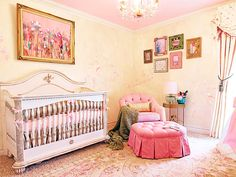 Project Nursery's Baby Room - Very Downton Abbey