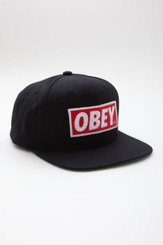 one of the many versions of the obey hat