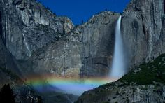 The Yosemite Falls Moon Bow by Matt Granz on 500px