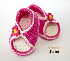 Peek-A-Boo Baby Crochet Sandals