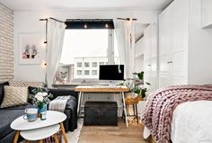 Brilliant Studio Apartment Decor Ideas On A Budget 38