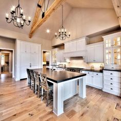 Beautiful kitchen from our home featured in the Artisan Home Tour #starrhomes #kansascity #custombuilder #homeinspiration
