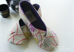 DIY slipper tutorial