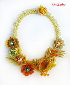 Spring Awakening necklace by BeautyGlamourLuba on Etsy, $480.00