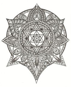 gematria mandalas and sacred geometry | Sacred geometry on the Behance Network