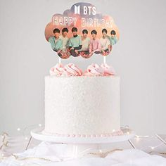 14th Birthday Cakes, 1st Birthday Cake Topper, Make Birthday Cake, Bithday Cake, Themed Birthday Cakes, Themed Cakes, Birthday Parties, Bts Happy Birthday, Birthday Cake Decorating