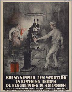 🇳🇱🌷🇳🇱 Bedrijfsveiligheid:Oude Hollandse reclameposters