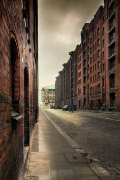Sunday morning light , Hamburg, Germany