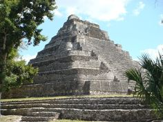 Chacchoben Mayan Ruins, Costa Maya, Mexico-- I climbed this! Costa Maya Mexico, Places Ive Been, Places To Go, Ancient Aztecs, Sea To Shining Sea, Mayan Ruins, Rotterdam, Adventure Travel, Monument Valley