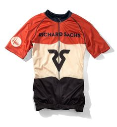 Richard Sachs cycling jersey by House Industries