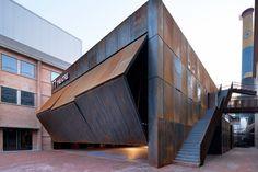 Origin Architect transforms abandoned Beijing factory into a theatre complex