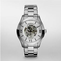 Discount Emporio Armani Watch Newness Mens Meccanico Fashion Watch on sale Armani Watches For Men, Watch Sale, Automatic Watch, Stainless Steel Bracelet, Casio Watch, Emporio Armani, Clear Crystal, Fashion Watches, Michael Kors Watch