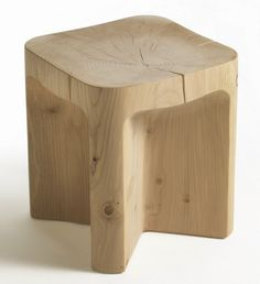 Efrem Bonacina and Giovanni Moro; 'Vero' Stool for Riva1920, 2014.