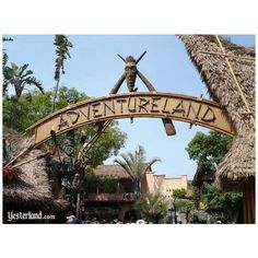 Disneyland Adventureland ❤ liked on Polyvore featuring disney and pictures