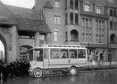 Berlin 1912 O-Bus in Steglitz