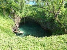 To Sua Ocean Trench, Lalomanu, Upolu, Samoa | 10 natural swimming pools
