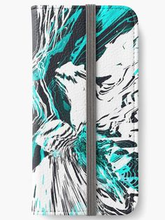 """""""The Abyss No.01"""" iPhone Wallet by Asmo Turunen. #design #iphonewallet #iphonecase #atcreativevisuals"""