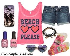 Ragazze in spiaggia 2015 outfit