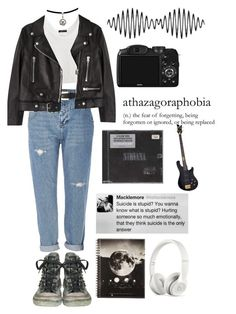 """fridaynight"" by mette6 on Polyvore featuring mode, River Island, Converse, Acne Studios, CO en Beats by Dr. Dre"