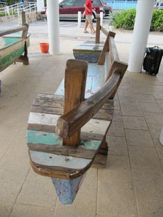 my life on the e-list: the sofl snapshots: boat bench