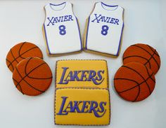 .Oh Sugar Events: Lakers Cookies