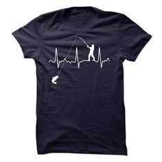 (Superior T-Shirts) Fishing Heartbeat Shirt - Buy Now...