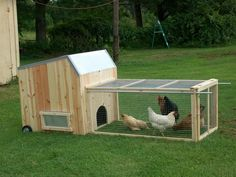Chicken Tractor You Build It 30 Page Color Instructions On Cd