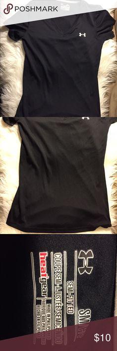 Women's Black under armour shirt Women's Black under armour shirt. Excellent condition. Under Armour Tops Tees - Short Sleeve