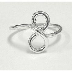 Best Friends Infinity Silver Ring