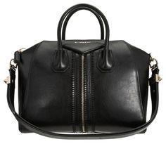 fb3af43e67c8 Loving the zipper design details on this Givenchy satchel! Stella Bag,  Givenchy Handbags,
