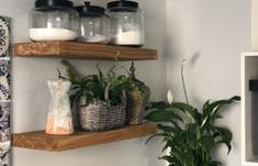 38773af7-e2c9-448d-8e86-51b80a55a468 Navy And White, Floating Shelves, Kitchen, Projects, Home Decor, Log Projects, Cooking, Blue Prints, Decoration Home