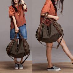 Большие вкладыш свободного покроя женщины в сумочка одно плечо крестики   тело сумочка брезент кожа большие емкость сумки купить на AliExpress