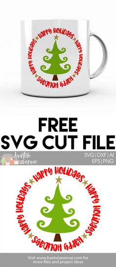 free christmas svg cut files for silhouette and cricut available for free until 12