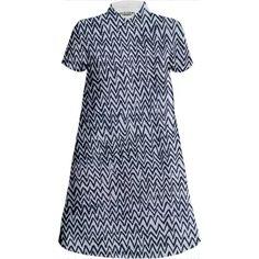 Shop NY16#24 Mini Shirt Dress by Jennifer Sanchez | Print All Over Me