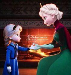 Elsa has a KID!!!