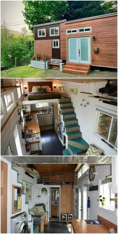 15 amazing tiny houses you can rent on Airbnb There's no denying that there has been a sharp increase in tiny house demand. They seem to be popping up everywhere, and people are falling in love with both Tyni House, Tiny House Living, Casas Containers, Tiny House Storage, Tiny House Movement, Tiny House Plans, Tiny House Trailer, Tiny House Design, House On Wheels