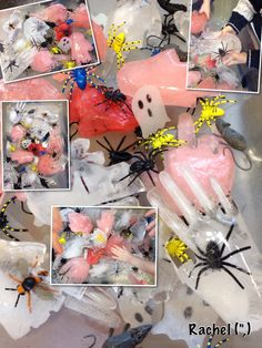 """Activities linked with Halloween in the Early Years classroom - from Rachel ("""",) Fall Preschool Activities, Eyfs Activities, Nursery Activities, Halloween Activities, Holiday Activities, Halloween Potions, Halloween Math, First Halloween, Halloween Crafts"""