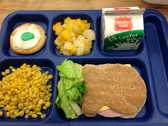 Fun lunch from Ronan (Montana) Public Schools. More at www.facebook.com/SchoolMealsThatRock