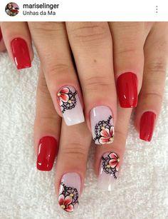 Mauve Nails, Red Nails, Nail Arts, Pedicure, Nail Colors, Nail Art Designs, Hair Beauty, Lily, Tattoos