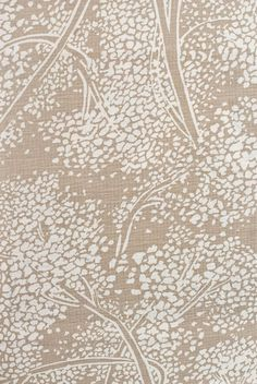Sold By The 1 Metre Length Fabric Large Floral Damask Pattern Upholstery Curtain Furnishing Fabric In Cream Brown