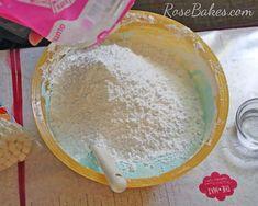 How to Make Homemade Marshmallow Fondant MMF 11 Fondant Cake Tutorial, Fondant Flower Cake, Fondant Rose, Fondant Baby, Cake Flowers, Best Buttercream Frosting, Marshmallow Frosting, Cake Icing, Eat Cake