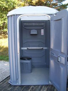 Wheelchair-accessible portapotty. I've never seen one but have often thought about this - If you want to make your life easier to access call Anglia Stairlifts or visits our website at www.anglia-stairlifts.co.uk for a quote today.