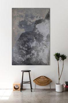 Abstract art Mountains, artist Karolina Biadasz- Pajewska