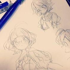 Solemnis drawings in 2019 anime art, anime sketch, drawings Art Manga, Art Anime, Manga Drawing, Anime Drawings Sketches, Anime Sketch, Cute Drawings, Art Reference Poses, Drawing Reference, Drawing Tips