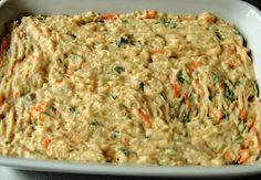 patê Fricassê de frango com cenoura
