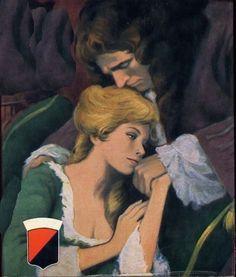 Eine Tür ging, und man hörte Stimmengewirr in der Halle des kleinen Schlosses. Angélique sprang auf und stürzte aus dem Zimmer. Sie erkannte Joffreys Stimme.- O Liebling, endlich! Wie bin ich froh! - Ich hatte Euch meine Rückkehr für heute abend versprochen.« - Und ich habe mich so nach Euch gesehnt.(…) »Ist er immer noch so schön, unser Florimond?« »Er wird von Tag zu Tag schöner!« Sie saß auf einem Kissen zu seinen Füßen und schmiegte sich lachend an ihn.