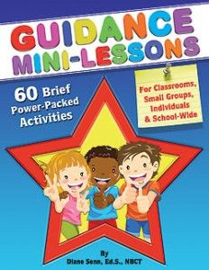 Guidance Mini-Lessons by Diane Senn- savvyschoolcounselor.com. I will have to look this up.  I really like this author for counseling ideas.