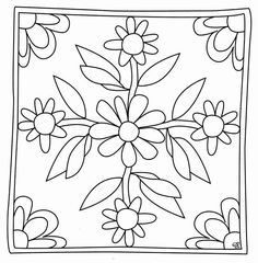 mandala coloring pages pdf Rangoli Border Designs, Border Embroidery Designs, Floral Embroidery Patterns, Flower Coloring Pages, Mandala Coloring, Cushion Embroidery, Brazilian Embroidery Stitches, Hand Work Blouse Design, Painting Templates