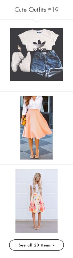 """""""Cute Outfits #19"""" by muppets-cookie-monster ❤ liked on Polyvore"""