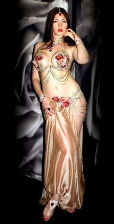 Stage & Dance Wear Bellydance Oriental Belly Indian Eastern Baladi Saidi Swing Robe Dance Dancing Costumes Clothes Bra Belt Skirt Dress Wear 4413 Quality First